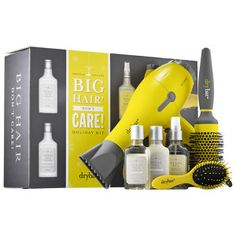 Drybar - Big Hair Don't Care Holiday Kit #sephora