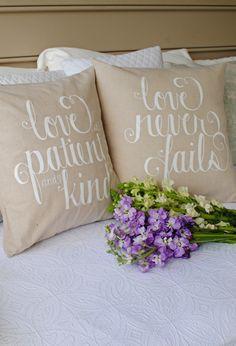 dear lillie pillow.