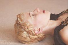 more braids red, crown, blond, braids, braided hairstyles, braid hair, beauti, thick hair, graphic design posters