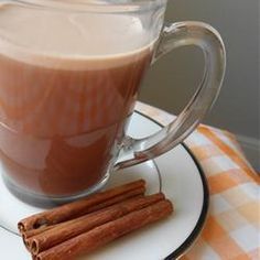 """Indian Chai Hot Chocolate 