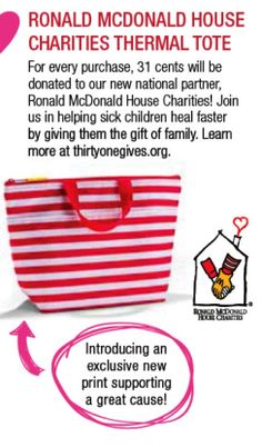 Ronald McDonald House Charities Thermal Tote - Spring 2014