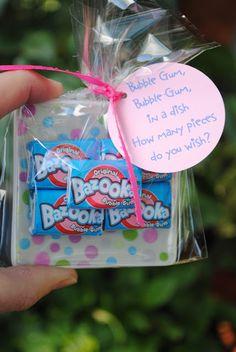 Bumble gum favor -