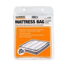 Queen Size Mattress Bag $3.95 @ U-Haul