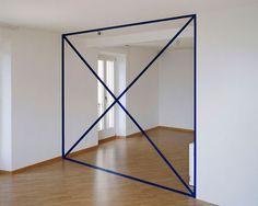 Anamorphic Illusions by Felice Varini (3)
