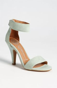 Jeffrey Campbell  :: pale mint suede