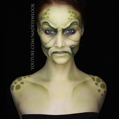 """THIS """"#PIRATE"""" look will be available on www.youtube.com/madeyewlookTONIGHT! I loved creating this #character SO MUCH. It started in one direction, and lead to something completely different. I love when #art does its own thing. This character is inspired by #DavyJones, and is a mix of a #turtle and an #octopus/#squid. Obviously, this photo is out of the #piratecostume ^.^ You guys will see it in costume tonight!"""