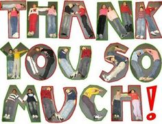 Perfect timing -Thank you letters are todays task! Sample Fundraising Thank You Letter