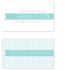 SimpleTe Design // The Typography Business Card Challenge