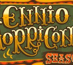 The Ennio Morricone Season by Steve Simpson, via Behance
