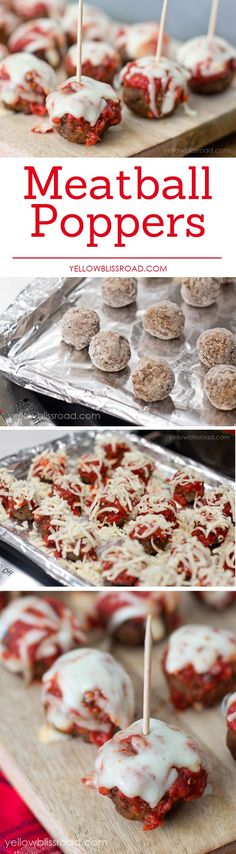Easy Meatball Popper