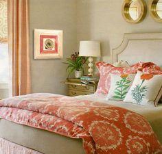#coral decor Coral Wall Art / Coral Room Decor / Decoupage Plate