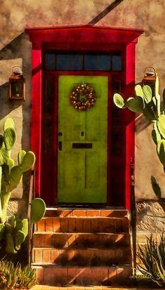 green doors, arizona door
