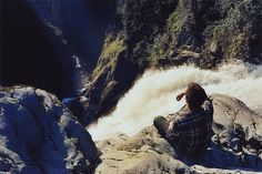 UPPER WALLACE FALLS   in Washington I believe.  Photo by Elias and Theresa Carlson