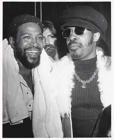 Marvin and Stevie.