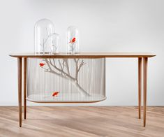 Bird Cage Table | DudeIWantThat.com