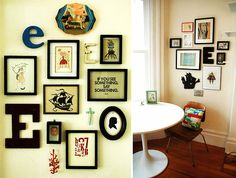 #frames #photos #arrangements #interiors