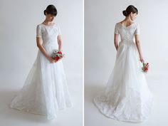 A Collection of Beautifully Unique Vintage Wedding Dresses from Beloved Vintage Bridal
