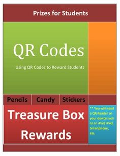 Are you looking for a fun way to reward students in your classroom and use technology. Using QR Codes are pefect for elementary students. These sec...