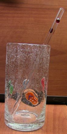 These straws would be fun for company and certainly less toxic for our children and ourselves. These glass straws are handmade in the USA. I love to support our economy by purchasing my USA made products. We are helping to decrease the waste in our landfills. Do you realize how many straws McDonald's uses in one day alone? Think about it.