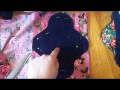 ▶ How To Make Cloth Sanitary Pads - Homemade sewing project tutorials! - YouTube