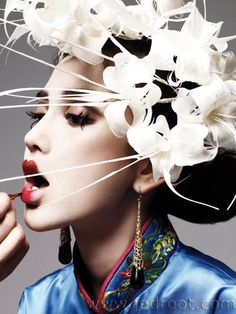 Modern geisha.