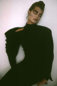 Brooke Shields by Sheila Metzner for Vogue, 1985.