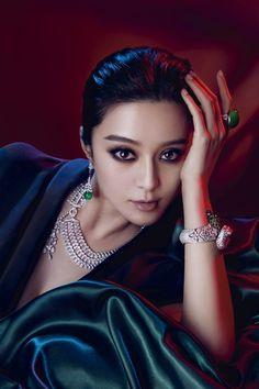 Cartier As with actress Fan BingBing