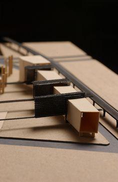 Architectural Model - Berlin Studio by nanogram.studio, via Flickr