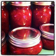 Super Simple Strawberry Rhubarb Jam
