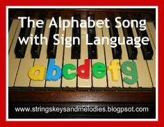 Finger Play Fun Day:  The Alphabet Song with Sign Language