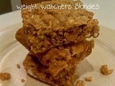 Weight watcher blondies.