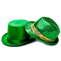 More bling for ringin' in Saint Patrick's Day!  #green #hats   #FiveBelow [for just $3]