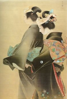 uemura shōen, orient, japanes art日本の美術, japan art, artist stuff, byuemura shoen1899, asian art, art japon, japanes artist