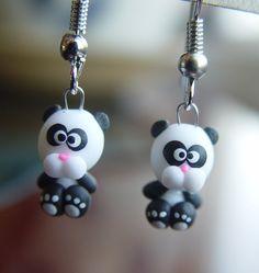 Polymer Clay earrings.