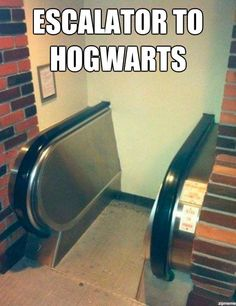 escalator-to-hogwarts