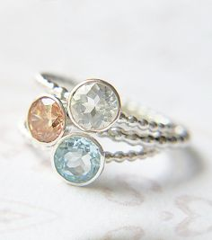 Custom Stacking Rings  Create your own Stacking by ButtercupandCo, $210.00