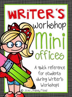 Writers Workshop Mini Office from PrimaryPolkaDots on TeachersNotebook.com -  (24 pages)  - Writer's Workshop Mini Office