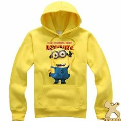 Minion Costume Despicable Me 2 Clothing Minions Hoodie Costume for Adults Lovers Medium  http://www.x-costume.com
