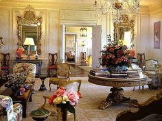 Grand Salon: Historic Fairholme Mansion in Newport, R.I.