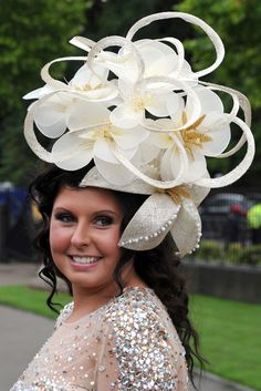 royal ascot hat  #littlelighthouse #gardenparty #hats