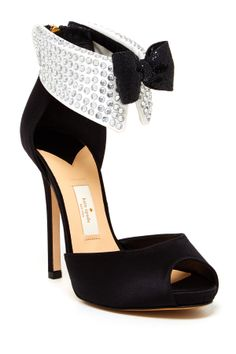 Black tie dress sandals