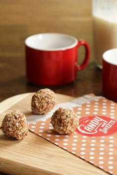 Fruit and Nut Energy Bites - easy and delicious, these no-bake treats are naturally sweetened.