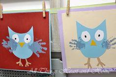 owl kids craft fall craft