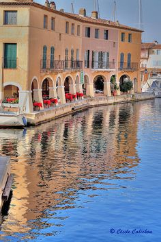 Port Grimaud in the South of France. Sailing Paradise!