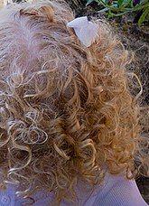 Homemade hair detangler spray