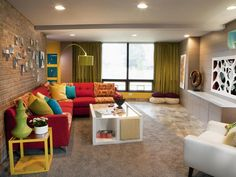 Eclectic | Living Rooms | S Interiors : Designer Portfolio : HGTV - Home  Garden Television