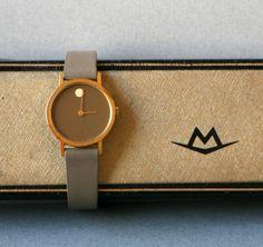 A vintage movado watch.