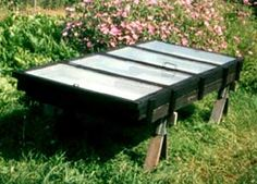 solar food dryer made from windows (a how-to).