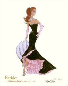 Barbie, Robert Best, Limited Edition Fashion Print