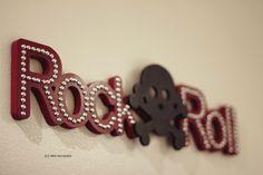 Decoração de Rock #LittleRock